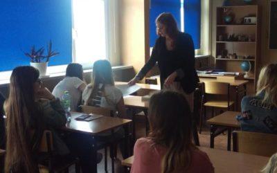 Warsztaty UAM w klasie humanistycznej