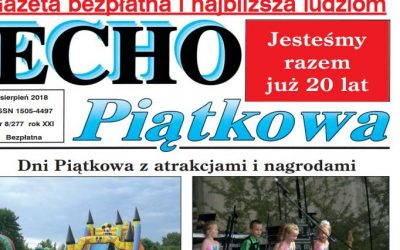Wywiad w Echu Piątkowa
